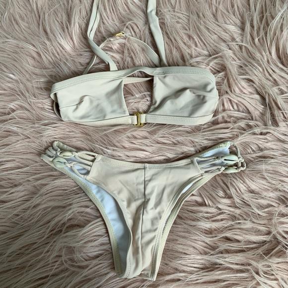 Zaful Other - Tan set bikini